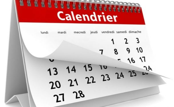 Sciences Po Calendrier Universitaire.Calendrier Universitaire 2018 2019